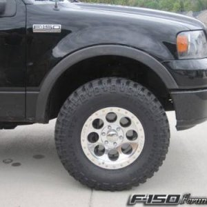 Mickey Thompson 17x9 on 315x70x17